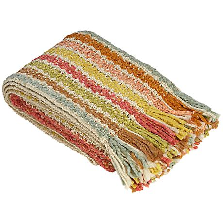 Winslow Collection Sherbet Decorative Throw