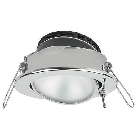 Captiva PowerLED Eyeball Steel Recessed Marine Light