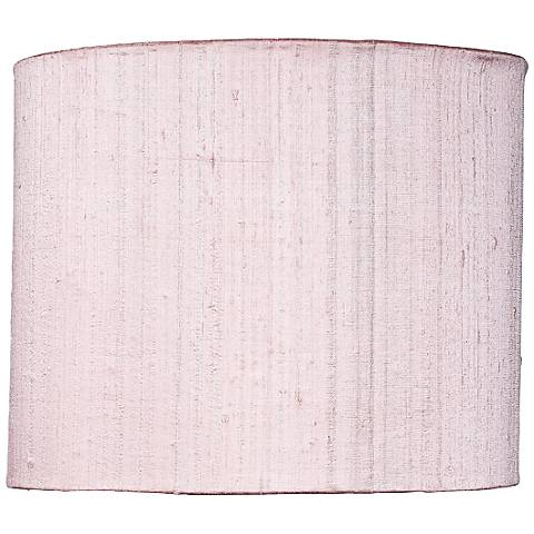 Large Pink Round Drum Lamp Shade 12x12x10 (Spider)