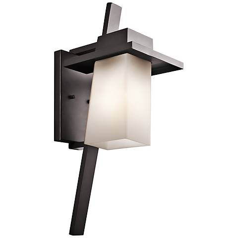 "Kichler Stonebrook 23 1/4"" High Bronze Outdoor Wall Light"