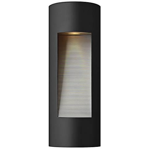 "Hinkley Luna 16 3/4"" High LED Black Outdoor Wall Light"