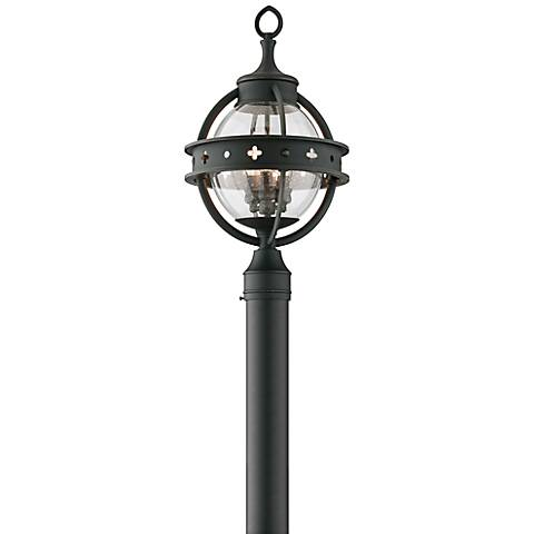 "Mendocino Collection 21"" High Black Outdoor Post Light"
