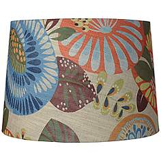 Tropic Drum Shade 14x16x11 (Spider)
