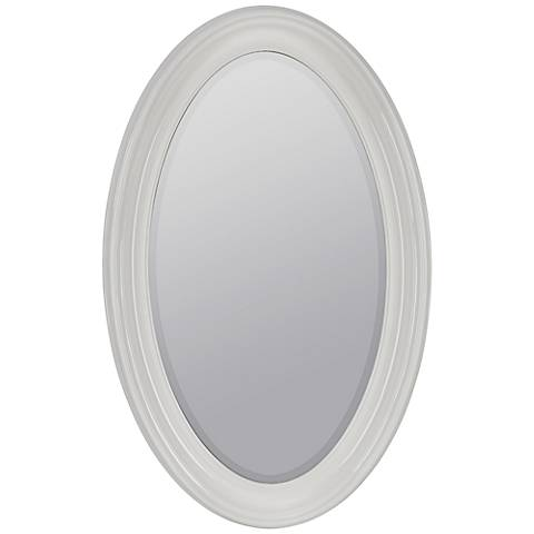 "Lyndale 44 1/2"" High Oval Wall Mirror"