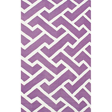 Resort Sawyer 25450 Purple Indoor/Outdoor Area Rug