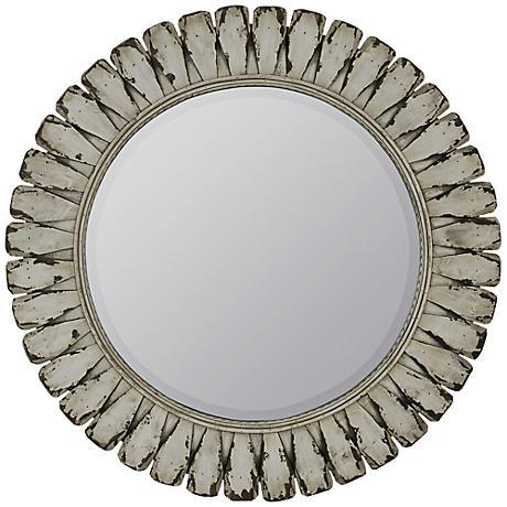 """Tagus 34 1/4"""" Round Wall Mirror"""