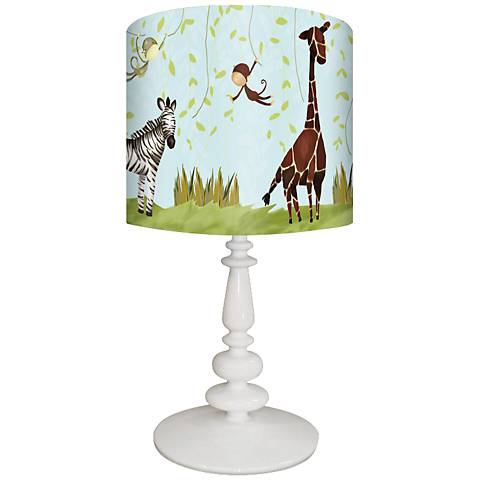 Oopsy Daisy Jungle Fun Children's Table Lamp