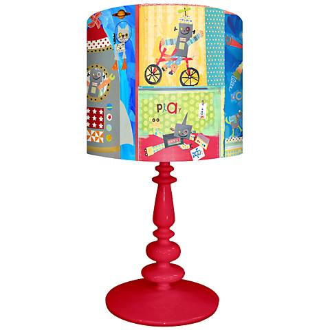 Oopsy Daisy Robots Children's Table Lamp