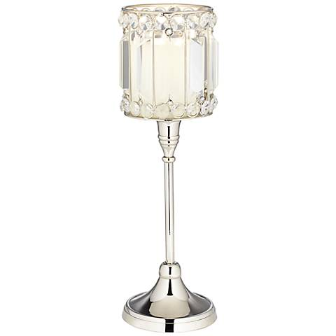 Cristalis Prism Crystal Pillar Candle Holder by Studio 55D