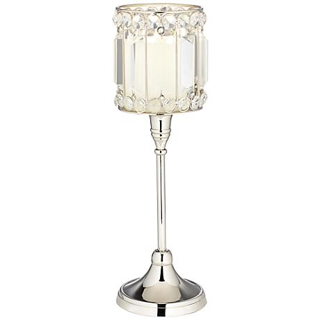 Cristalis Prism Crystal Pillar Candle Holder by Studio 55D