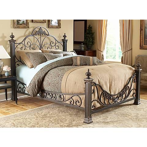 Baroque Gilded Slate Beds