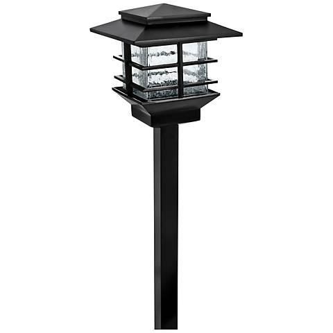 Dalton Squares Low Voltage Black LED Path Light