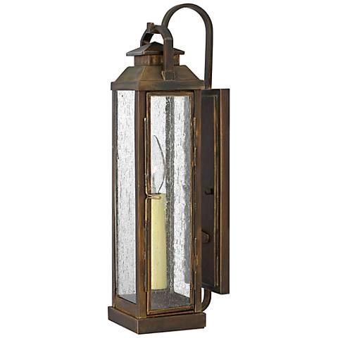 Hinkley Revere Small Sienna Outdoor Wall Lantern