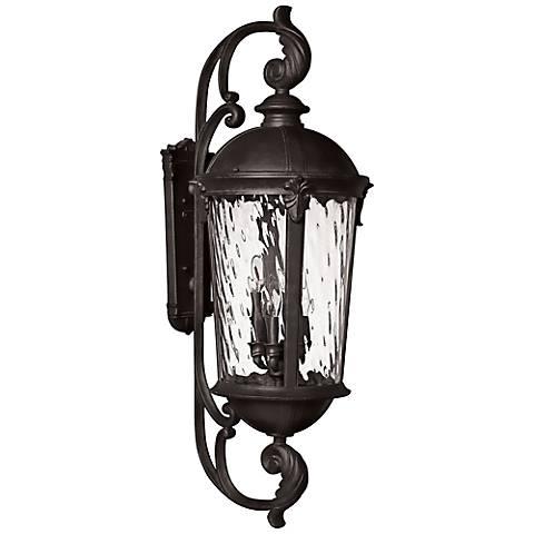 "Hinkley Windsor 42"" High Black Outdoor Wall Lantern"