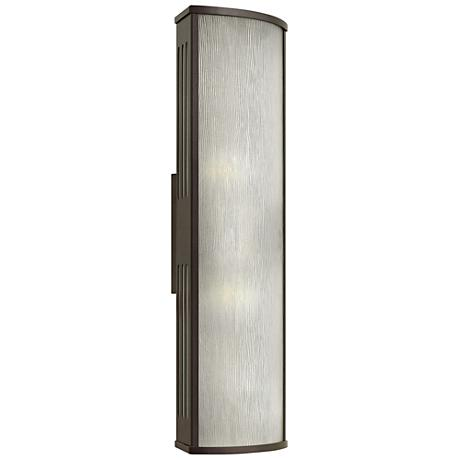 "Hinkley District 24"" High Bronze Outdoor Wall Light"