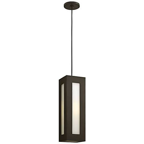 "Hinkley Dorian 18 1/4"" High Bronze Outdoor Hanging Light"