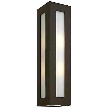 """Hinkley Dorian 25 1/4"""" High Bronze Outdoor Wall Light"""