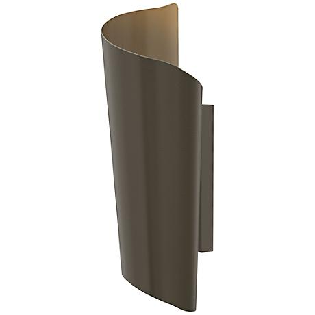 "Hinkley Surf 24"" High Bronze Outdoor Wall Light"