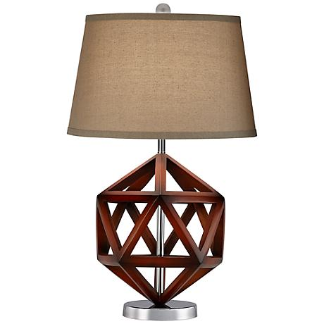 Geodesic Cube Table Lamp