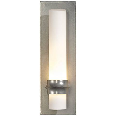 Hubbardton Forge Rook Platinum Small Wall Sconce