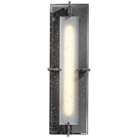 Hubbardton Forge Ethos Steel Medium Outdoor LED Wall Sconce