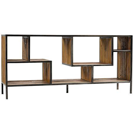 Irondale Helena Reclaimed Wood Console Bookcase