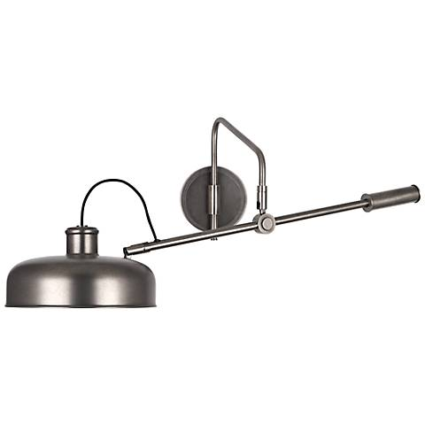 Robert Abbey Albert Patina Nickel Wall Mounted Boom Lamp