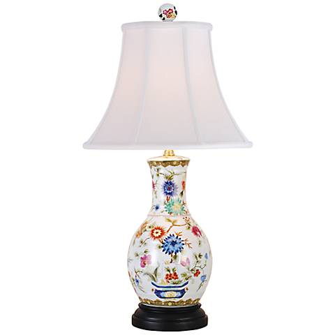 Rose Vase Table Lamp
