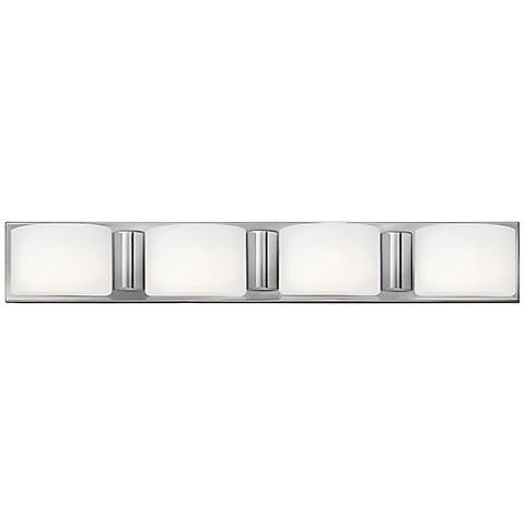 "Hinkley Daria 32 1/2"" Wide Etched Opal Bathroom Light"