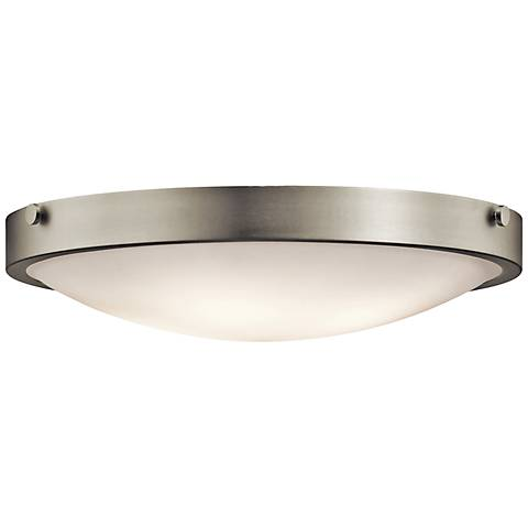 "Kichler Lytham 20 1/2"" Wide Brushed Nickel Ceiling Light"