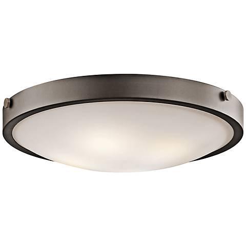 """Kichler Lytham 20 1/2"""" Wide Olde Bronze Ceiling Light"""