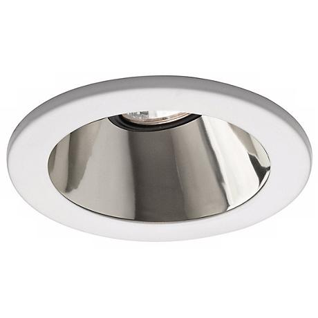 "WAC 4"" Low Voltage Reflector Recessed Light White Trim"