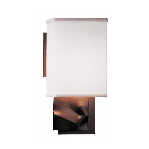 Hubbardton Forge Talus Collection Single Plate Sconce