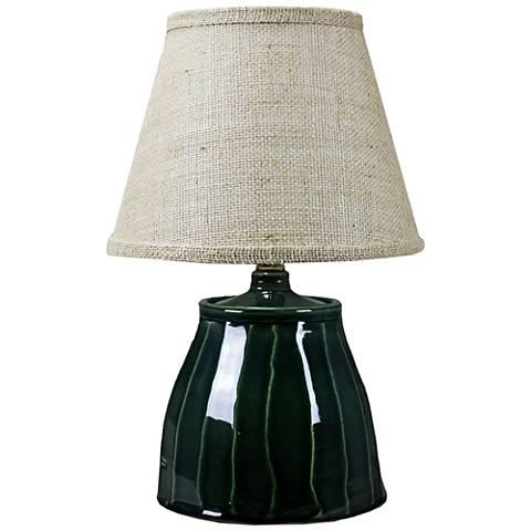 Cambridge Sage Ceramic Accent Table Lamp