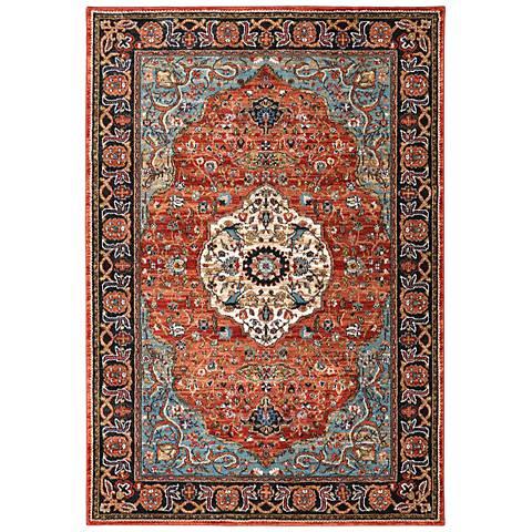 Spice Market 90661 Petra Multi-Color Area Rug