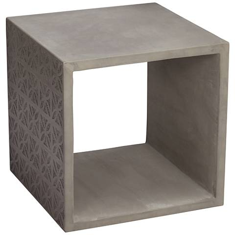 Nova Concrete Indoor-Outdoor Side Table