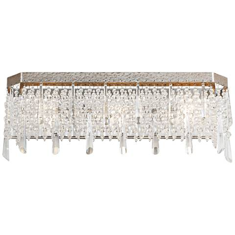 "Varaluz Barcelona 21"" Wide Transcend Silver Bath Light"