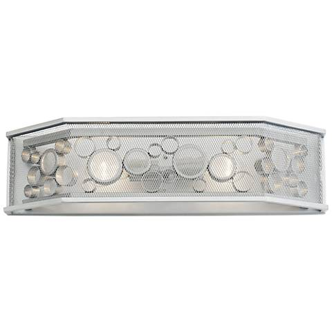 "Varaluz Fascination 24""W Metallic Silver 2-Light Bath Light"