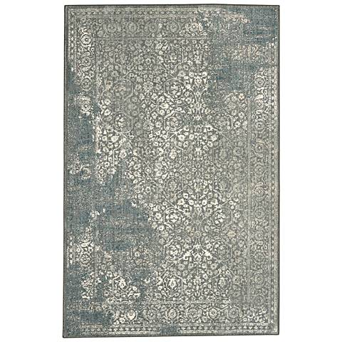 Karastan Euphoria 90643 Ayr Willow Gray Area Rug