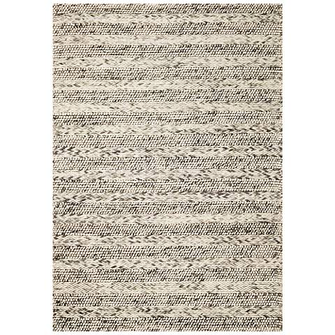 Cortico 6152 Gray Heather Wool Area Rug