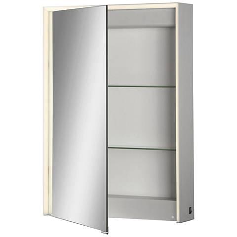 Eurofase Laurent 1-Door LED Mirror Cabinet