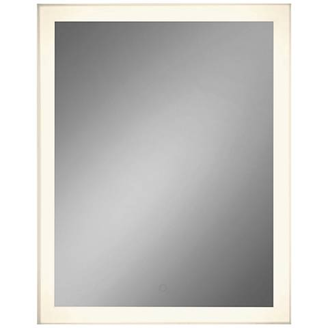 "Eurofase Adams Edge-lit 28 1/2"" x 36"" Large LED Wall Mirror"