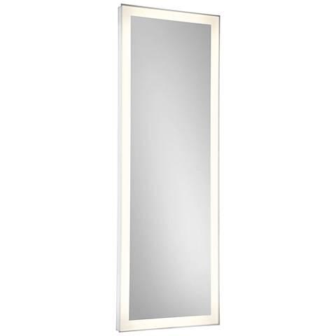 "Eurofase Adams Edge-lit 21"" x 60"" Linear LED Wall Mirror"