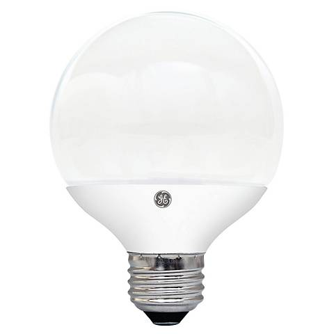60W Equivalent GE Frosted 7W LED G25 Dimmable Standard