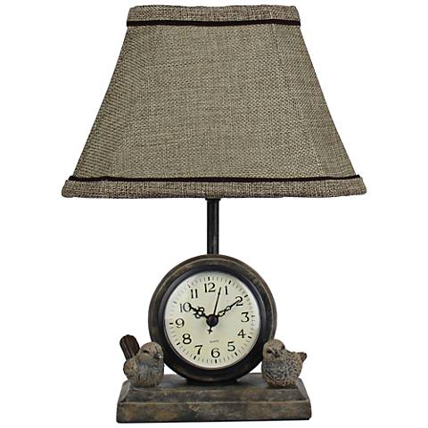 Spring Forward Paint Accent Table Lamp
