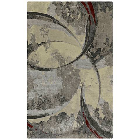 Dalyn Upton UP3 Pewter Area Rug