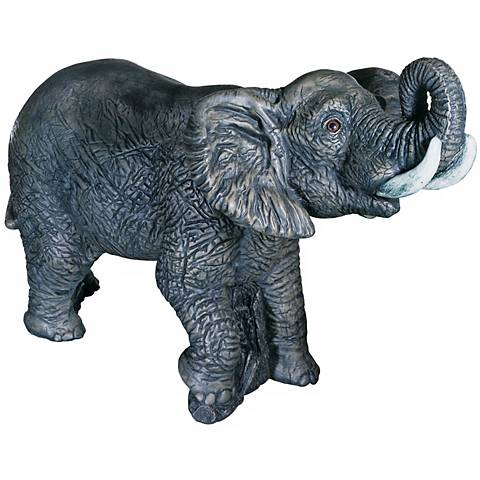 "Elephant 20"" High Garden Accent"