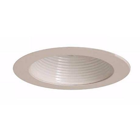 """6"""" Line Voltage White Painted Baffle"""