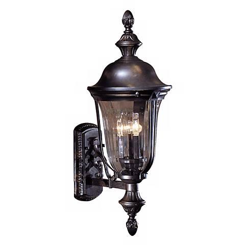 """Morgan Park Collection Outdoor 26"""" High Wall Lantern"""