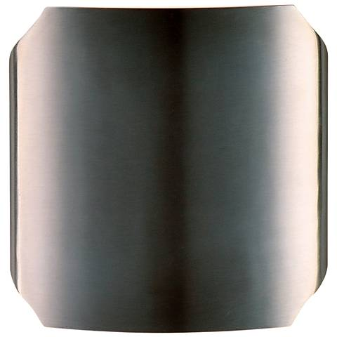 "Maxim Lightray 7""H Brushed Aluminum LED Outdoor Wall Light"